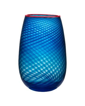 Bilde av Kosta Boda Red Rim Vase 33 cm