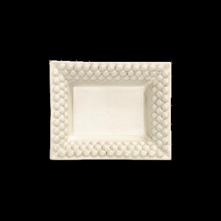 Liten Bricka Bubbles Sand 16x20 cm