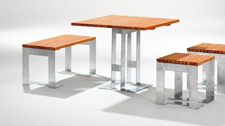 SMD Design Paus möbelgrupp - oljad ek