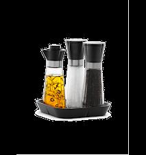 Grand Cru Salt, Peppar samt Vinäger-Olivoljaflaska