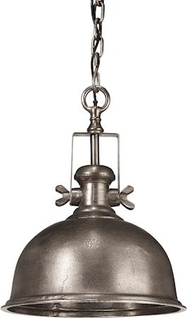 Bilde av PR Home Leeds Taklampe Råsølv 50cm
