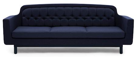 Normann Copenhagen Onkel sofa 3 sits - blå