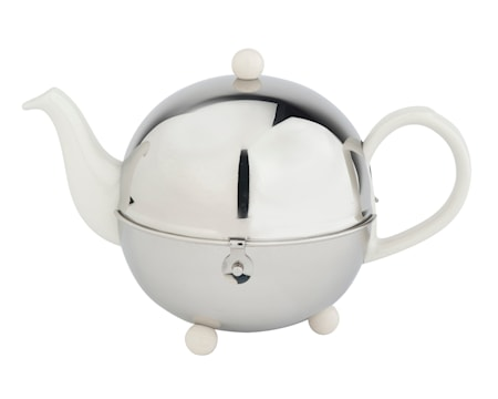 Bredemeijer Cosy Romantic Teekannu 1,3L Valkoinen/Kiiltävä Teräs