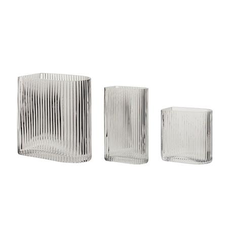 Vas Glas Klar 3 st/förpackning