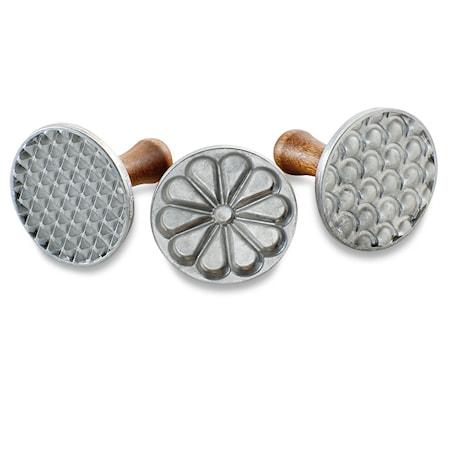 Nordic Ware Koristeluleima 3-pack Alumiini/Puu