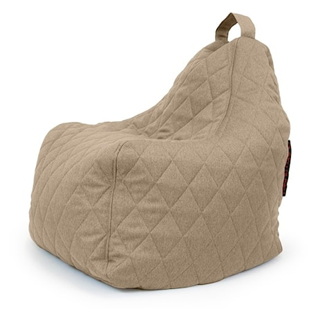 Pusku Pusku Play quilted nordic sittsäck - Concrete