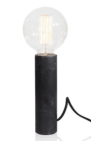 Bilde av Globen Lighting Bordlampe Marble XL Svart