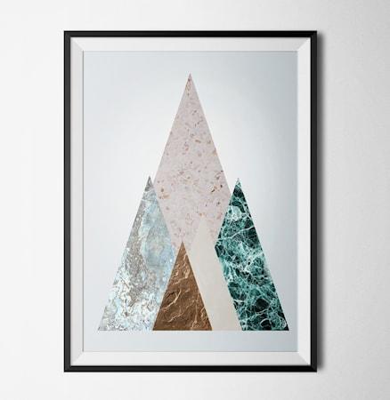 Bilde av Konstgaraget Minimal marble 3 poster