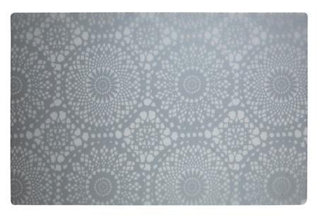 Galzone Brikke med mønster Hvit 44x28,5 cm thumbnail