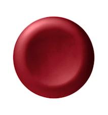 Rund Bricka, 49 cm, röd