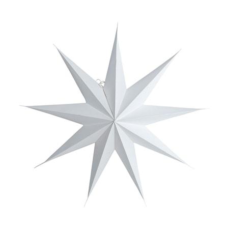 House Doctor Julstjärna 9 point 45 cm - Vit