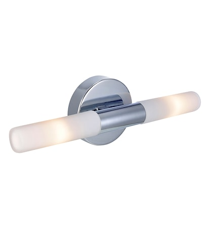 Bilde av Markslöjd Glow Vegglampe 2 Lys Krom IP44