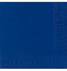 Servetter 33 cm 3-Lag Mörkblå 50 st