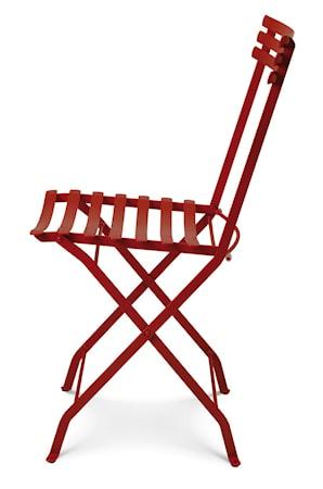 Ethimo Flower folding stol - Röd