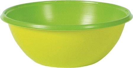Plastskål Colorix 38 cl Grön 10 st
