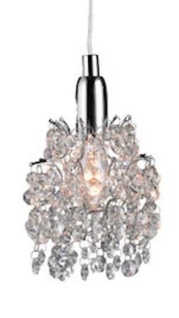 Bilde av Markslöjd Rosa Vegglampe 3 Lys Stål/Hvit