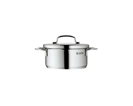 WMF Mini Cook Låg Gryde 0,7L med låg, Stål thumbnail