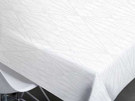 Södahl Pöytäliina 140x320 Diamond Ruudullinen, Valkoinen