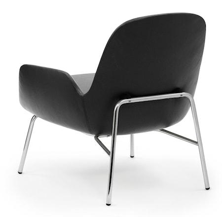 Normann Copenhagen Era Lounge Chair Low Chrome - Tango