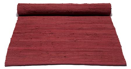 Bomullsmatta Rosewood red