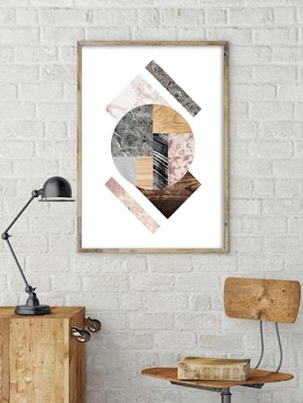 Bilde av Konstgaraget Geometry abstraction 3 poster