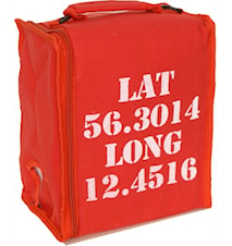 BiB lat red- Kylväska för 3 liter vin med axelrem