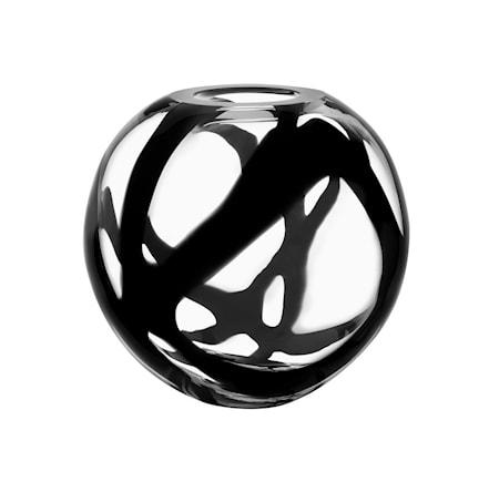 Bilde av Kosta Boda Globe Svart Vase
