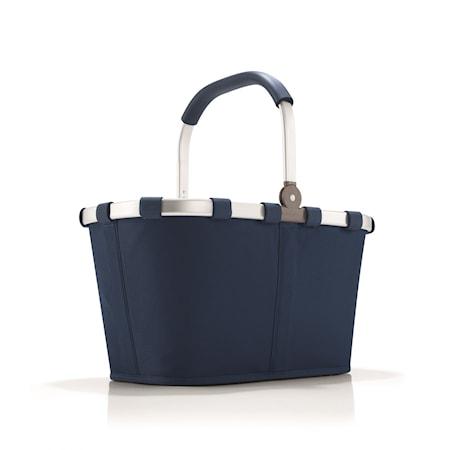 Shoppingkorg Marinblå 22 L
