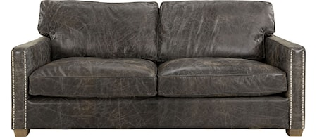 Artwood Viscount soffa - 2-sits, Leather fudge