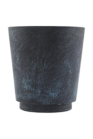 House Doctor Kukkaruukku Marble Effect Ø 24×26 cm – Sininen