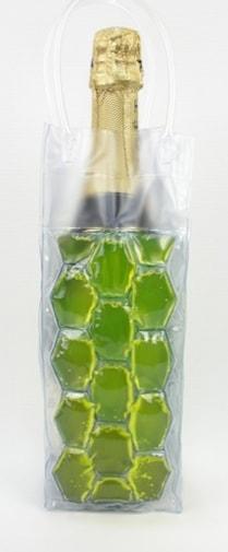 Freez yellow- Flaskkylare som förvaras i frysen