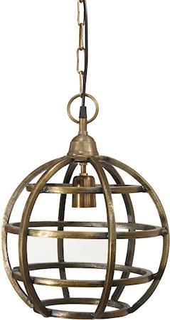 Bilde av PR Home Bristol Taklampe Råmessing 30 cm