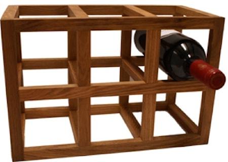 BoxinBag Oak rack- Viinipulloteline tammi
