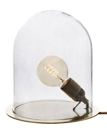 Bilde av Ebb & Flow Glow in a dome medium transparent bordlampe