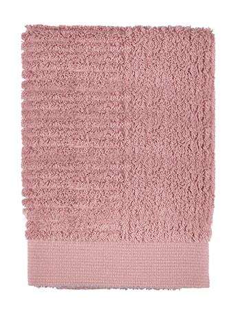 Zone Denmark Håndklæde - Rose - Stk. - Classic - 100% bomuld - 600 g - L 70,0cm - B 50,0cm - Sleeve thumbnail