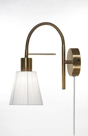 Bilde av Globen Lighting Vegglampe Night Antikkmessing