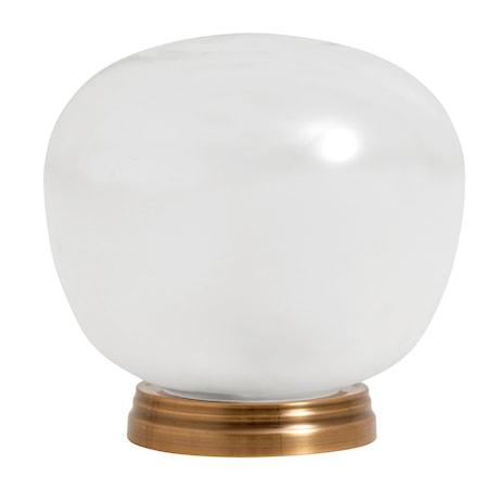 Bordslampa Glas/Vit