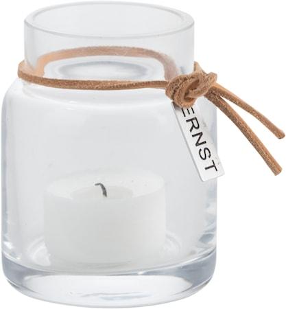Värmeljuslykta glas Ø5 cm