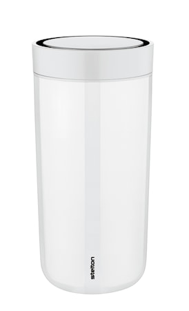 Stelton To Go Click Mugg 34 cl Steel Chalk