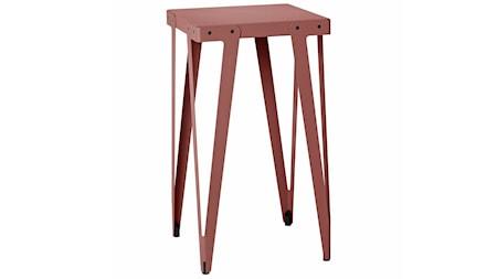 Functionals Lloyd high table barbord ? 60x60, mörkröd