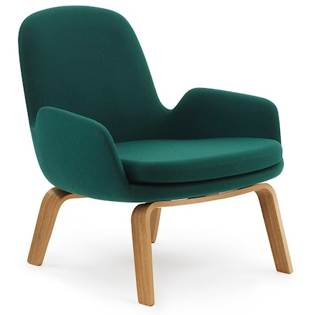 Normann Copenhagen Era Lounge Chair Low Oak - Fame