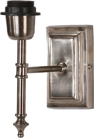 Bilde av PR Home Classic Vegglampe Antikk sølv 20 cm