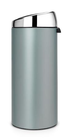 Brabantia Poljinroskis 45 L XXL Brilliant Steel kansi Metallic Grey