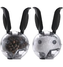 Mini Magnetic Set Peppar- & saltkvarnar svarta handtag