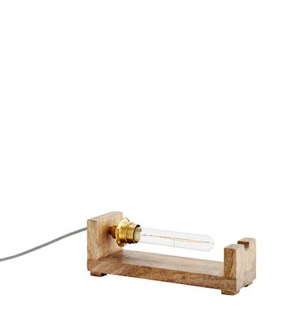 Bordslampa 30x10x8,5cm Natur/trä