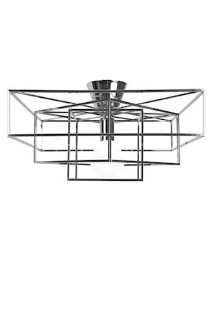 Cube Plafond Krom