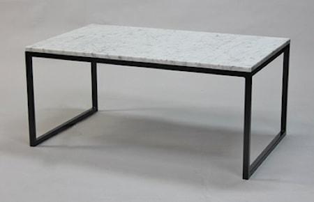 Bilde av Runa Design Rektangulært marmor sofabord halvkube