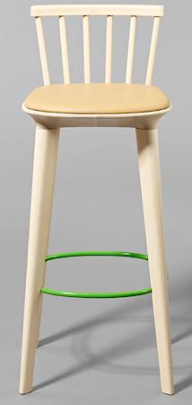 minus tio Jackie barstol, skinnsits - Grön fotring