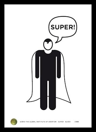 Bilde av TGIOC Super Black poster
