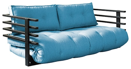 KARUP Funk soffa ? Svart/Azur blå